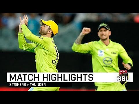Rashid Cameo Not Enough As Thunder Win A NYE Classic | KFC BBL|09