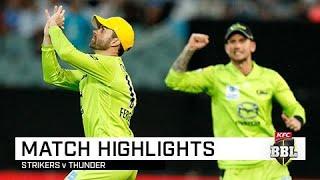 Rashid cameo not enough as Thunder win a NYE classic | KFC BBL|09