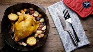High Heat Roasted Chicken Recipe - Le Gourmet TV 4K