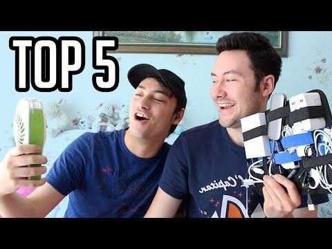TOP 5 : Objets High-Tech pour l'été 2017 ! (avec mon frère)