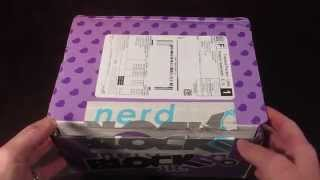 Nerd Block Jr June 2014 - 6-11 Years Old - Girl- Toy Subscription Box - Unboxing