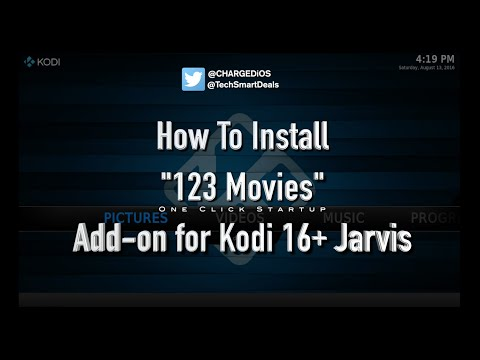 How to install 123 MOVIES Add-on for KODI -- One Click Startup - No Sources Required!