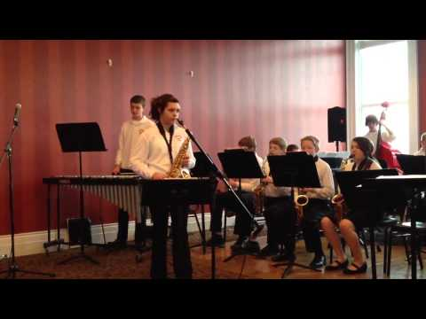 Byron Center West Middle School Jazz Band 2013 directed by David Klein