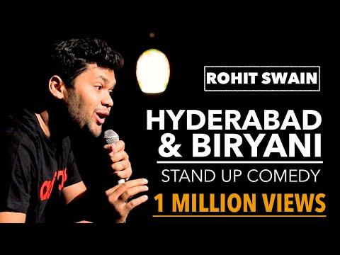 Hyderabad & Biryani | Stand-up Comedy By Rohit Swain