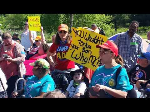National ADAPT Action in Washington DC - May 2017
