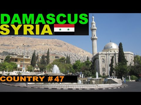 A Tourist's Guide to Damascus, Syria