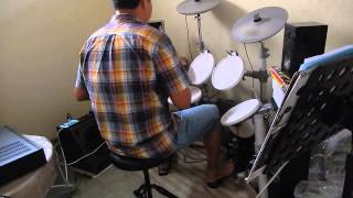 Drum Cover Way back into love soundtrack from Music & Lyrics by Peck