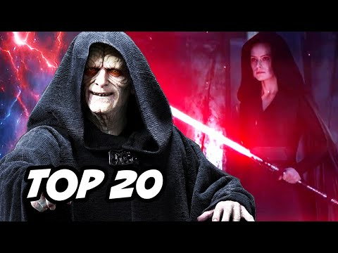 Star Wars Rise Of Skywalker TOP 20 WTF And Ending Questions
