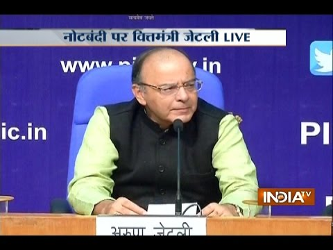 Delhi: Arun Jaitley Reveals the Challenges of Demonetisation of Rs 500 and Rs 1000
