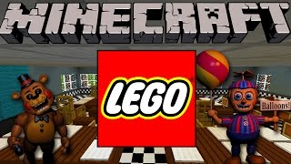 Minecraft - LEGO BUILDING CHALLENGE - Five Nights at Freddy