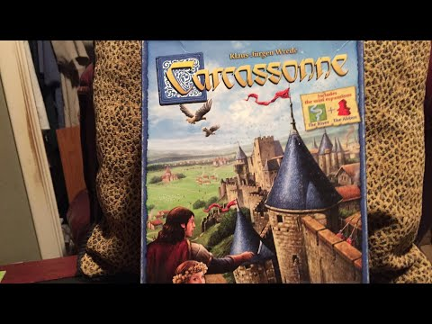 Carcassonne how to play/gameplay part 1 |