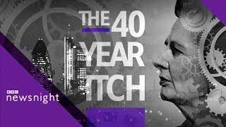 40 years after Thatcher: The future of work - BBC Newsnight
