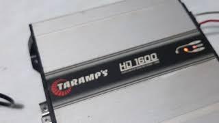 Taramps HD1600 Ligado Direto na Tomada