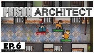 Prison Architect - Ep. 6 - Escape the Mini-Prison! -  Escape Mode -  Let's Play