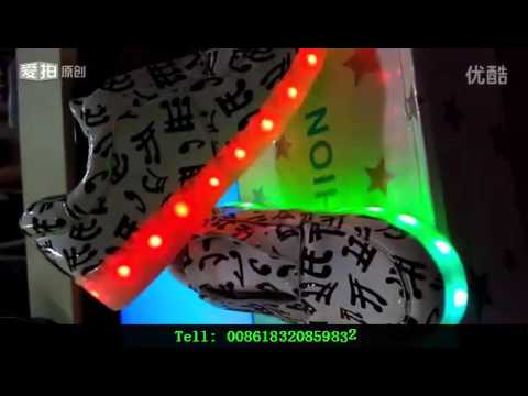 2016 wholesale party Supplies LED Silicon Shoes China Manufacture Cheap LED Gifts