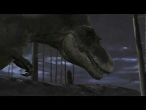 Albertosaurus Ambush On Prey