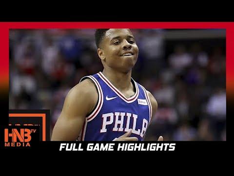 Philadelphia 76ers vs Detroit Pistons 1st Half Highlights / Week 2 / 2017 NBA Season