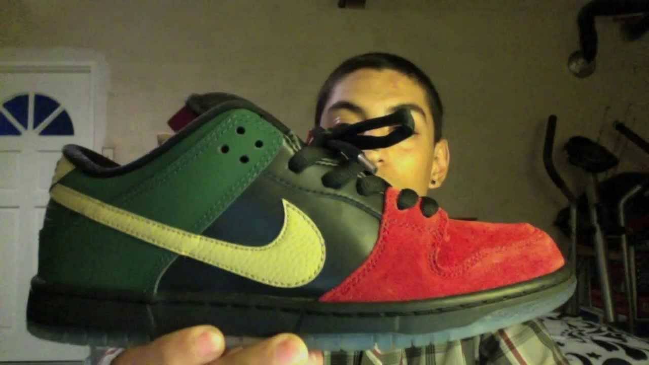 a19b23af2209 Nike SB BHM Dunk Low Pro Review - YouTube