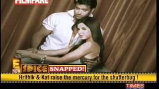 Hrithik & Katrina simmer the lens for Filmfare