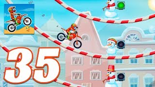 Moto X3M Bike Race Game SNOW - Gameplay Android & iOS game - moto x3m