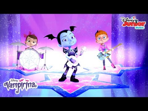 We're a Constellation Music Video 🌟   Vampirina   Disney Junior