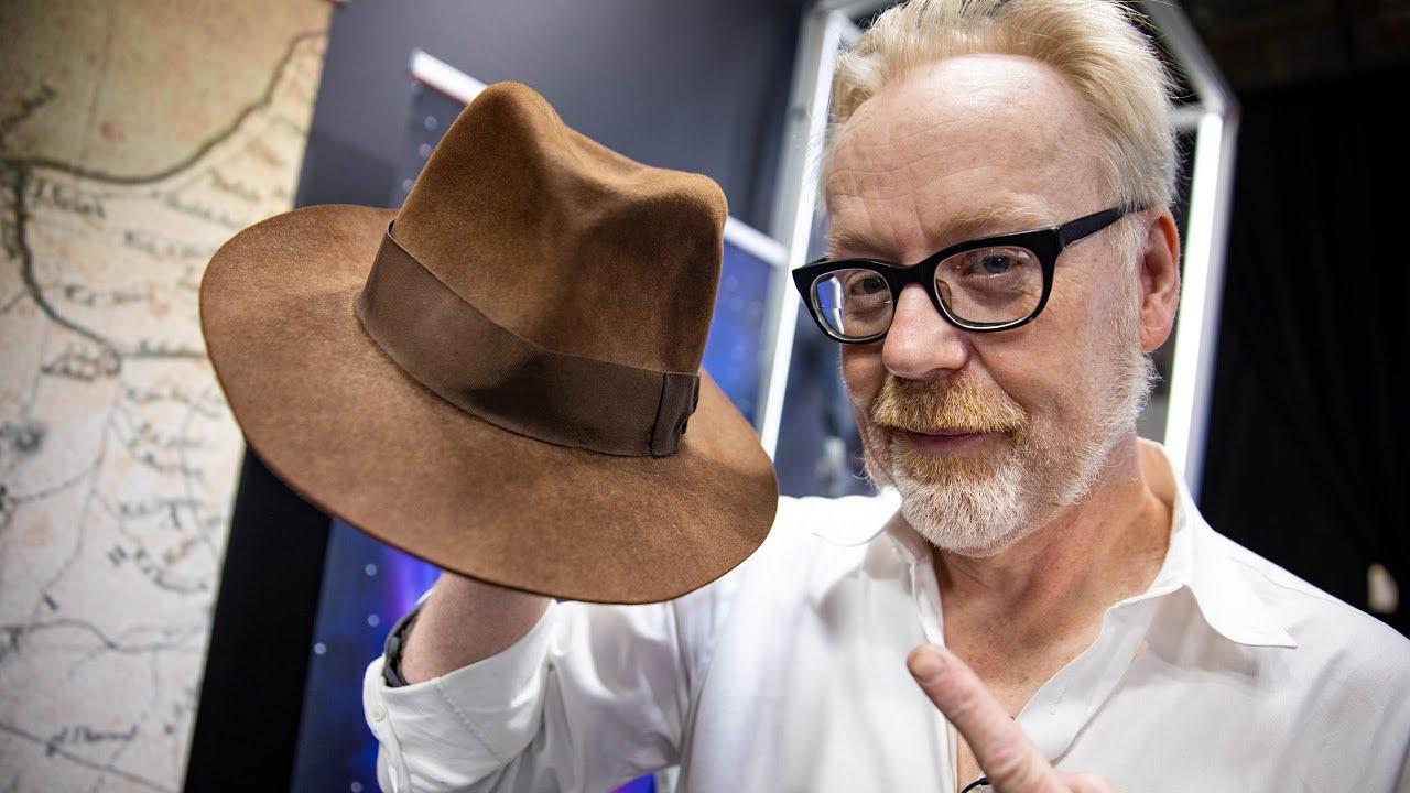 Adam Savage and the Original Indiana Jones Fedora!