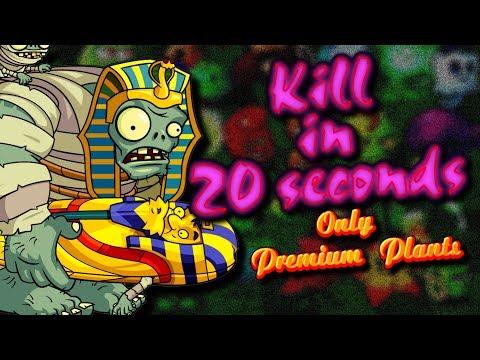Plants vs Zombies 2 Premium Plants vs Mummified Gargantuar Pvz 2 Gameplay Competition