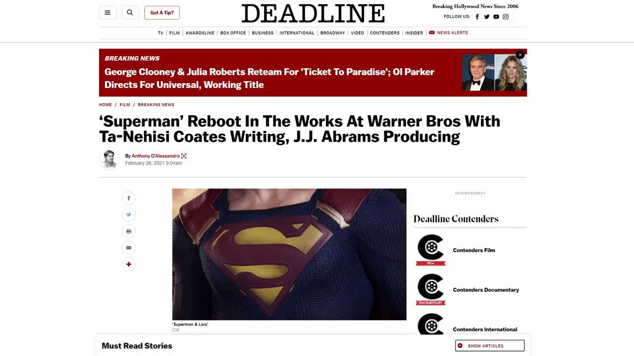 Superman Reboot RUINED! Confirmed writer mocks 9/11 first responders! HATES America!