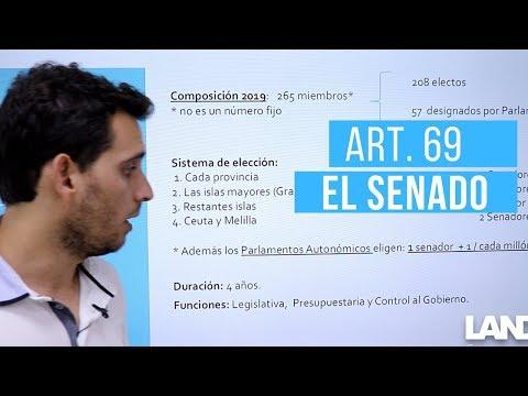El Senado (art. 69 de la Constitución Española)