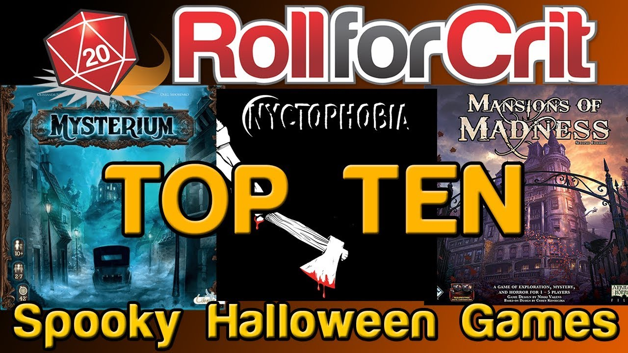 Top 10 Spooky Board Games For Halloween