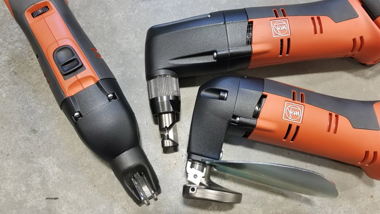Fein Cordless Shears and Nibblers @ Trick-tools.com