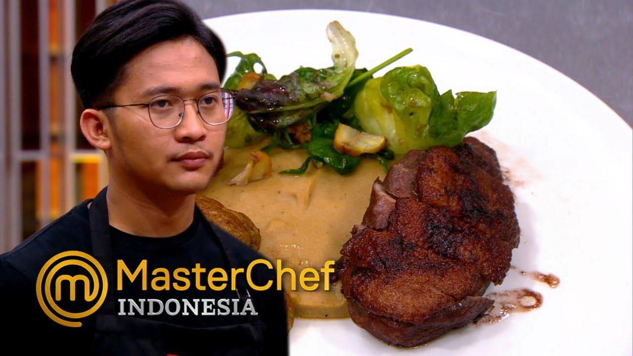 MASTERCHEF INDONESIA - Yang Membuat Faiz Insecure dibilang Enak Chef Juna | Galeri 15