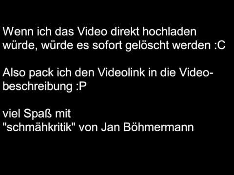 """""""schmähkritik"""" von Jan Böhmermann"""