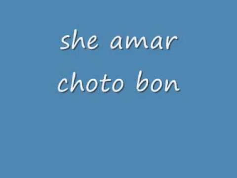 Bangla song-she amar choto bon.wmv