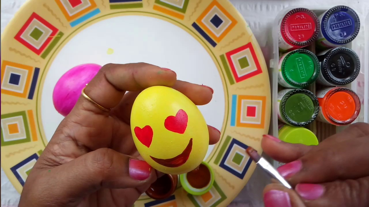 Egg Shell Craft A Cute Craft For Kids And Also For Adults Egg