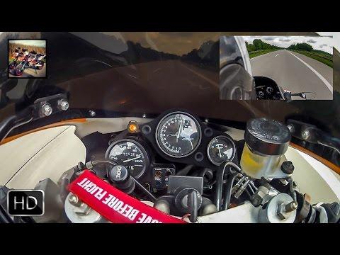 Honda CBR 400RR Topspeed - Accerleration