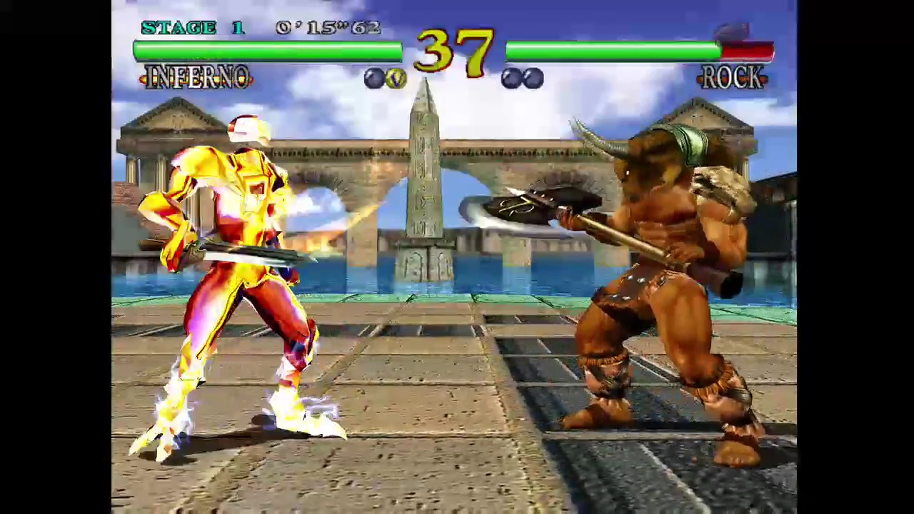 Soul Calibur 1 - Arcade with Inferno and Ending - YouTube