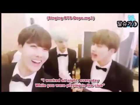 V-live deleted bts broadcast jin cursed