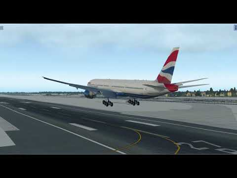 Video of the Wing Flex tweak I've been working on for the FF 777