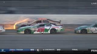 ARCA Racing Series 2017. Daytona International Speedway. Multiple Crash