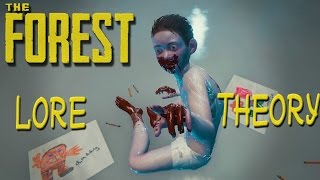 ►Lore Theories Explaining the Main Story, Megan, Cross, Red Cannibal | The Forest