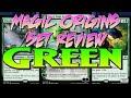 Magic Origins Complete Set Review: Green