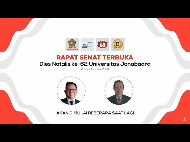 Rapat Senat Terbuka Dies Natalis Universitas Janabadra ke 62