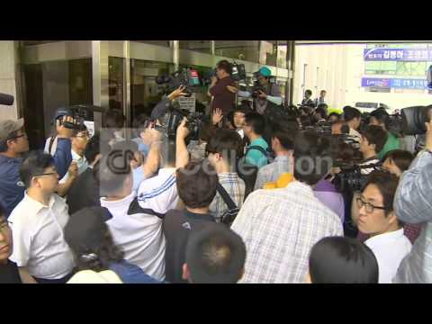 SOUTH KOREA-FERRY TRIAL BEGINS-RELATIVES ARRIVAL