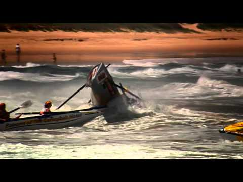 Surf Boat Rowing Crash - Ocean Thunder, Dee Why Beach