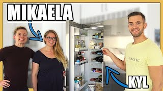 Kan vi äta upp allt i Mikaelas Kylskåp?