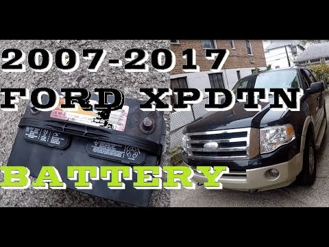 How To Change Replace Battery In 2007 17 Ford Expedition