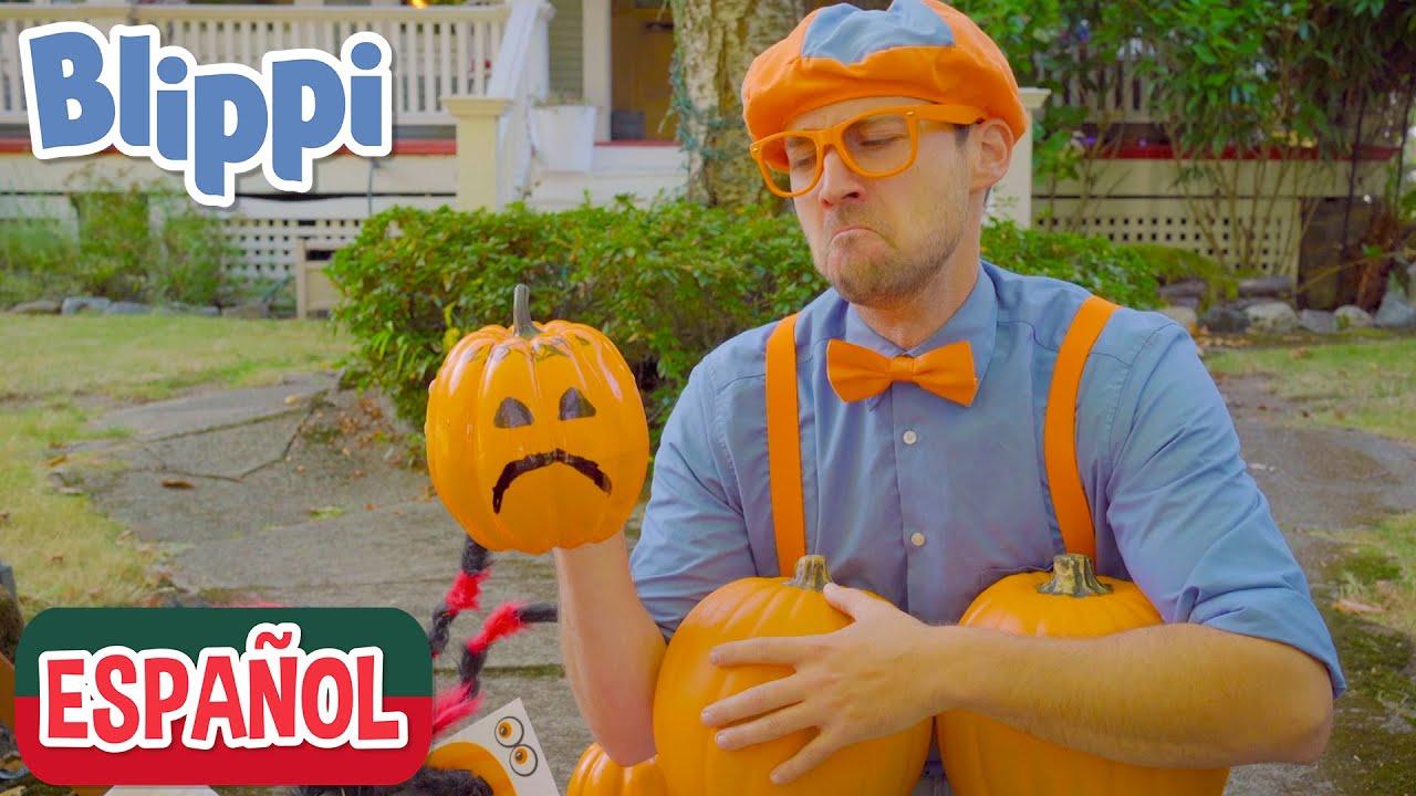 🕸️Adornos de Halloween🕸️ | Videos de halloween para niños | aprende con blippi
