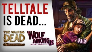 Telltale Games SHUTS DOWN - The Walking Dead Season 4, Wolf Among Us 2 & Stranger Things CANCELLED