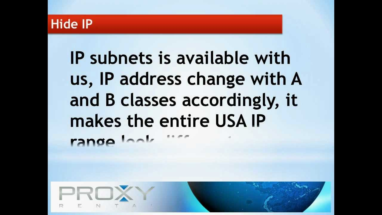 Proxy Rental Is The Most Powerful Proxy Changer Software Utilized To Hide IP